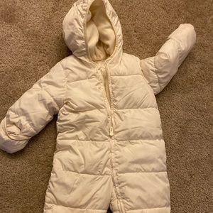 Gap baby snowsuit
